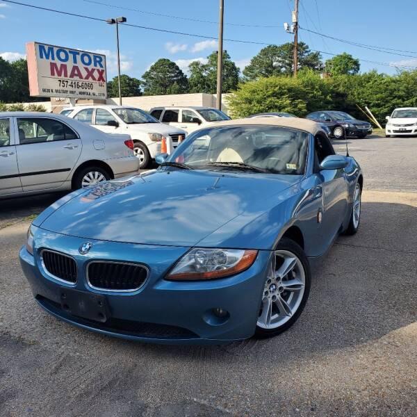 2003 BMW Z4 for sale in Norfolk, VA