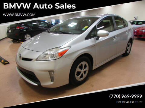 2012 Toyota Prius for sale at BMVW Auto Sales - Hybrids in Union City GA
