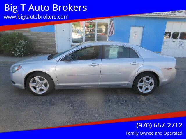 2011 Chevrolet Malibu for sale at Big T Auto Brokers in Loveland CO