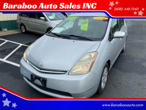 2006 Toyota Prius for sale at Baraboo Auto Sales INC in Baraboo WI