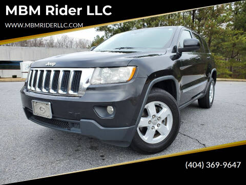 2012 Jeep Grand Cherokee for sale at MBM Rider LLC in Alpharetta GA