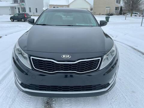 2013 Kia Optima Hybrid for sale at Via Roma Auto Sales in Columbus OH