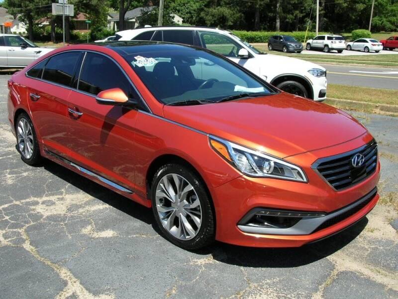 2015 Hyundai Sonata for sale at South Atlanta Motorsports in Mcdonough GA