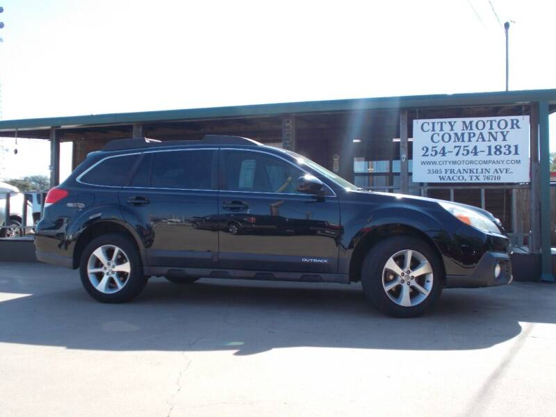 2014 Subaru Outback for sale at CITY MOTOR COMPANY in Waco TX