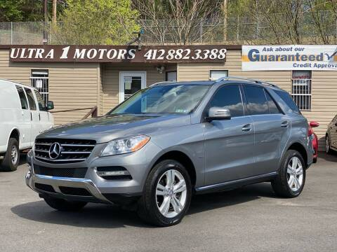 2012 Mercedes-Benz M-Class for sale at Ultra 1 Motors in Pittsburgh PA