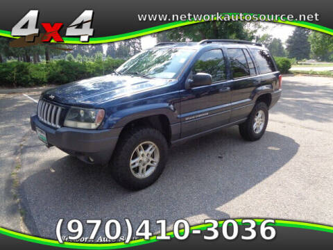 2004 Jeep Grand Cherokee for sale at Network Auto Source in Loveland CO
