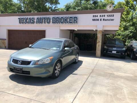 2010 Honda Accord for sale at Texas Auto Broker in Killeen TX