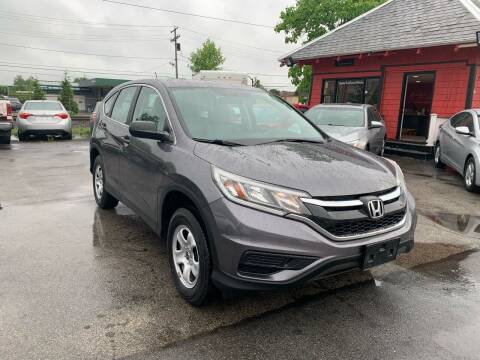 2015 Honda CR-V for sale at Mass Auto Exchange in Framingham MA