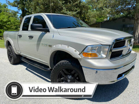 2010 Dodge Ram Pickup 1500 for sale at Byron Thomas Auto Sales, Inc. in Scotland Neck NC