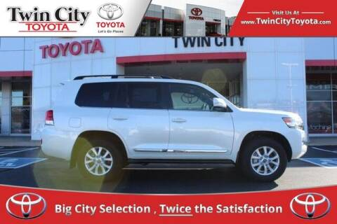 2020 Toyota Land Cruiser for sale at Twin City Toyota in Herculaneum MO
