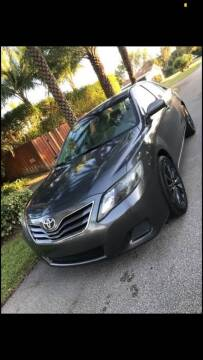 2010 Toyota Camry for sale at IRON CARS in Hollywood FL