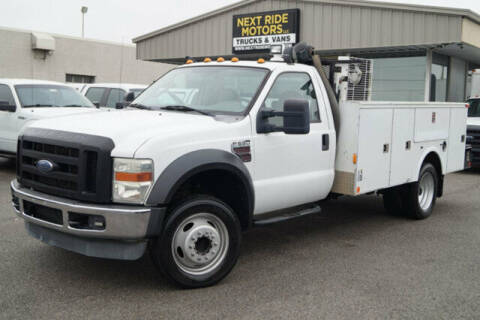 2008 Ford F-550 Super Duty for sale at Next Ride Motors in Nashville TN