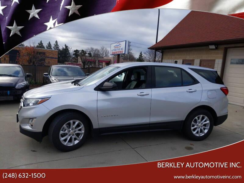 2018 Chevrolet Equinox for sale at Berkley Automotive Inc. in Berkley MI