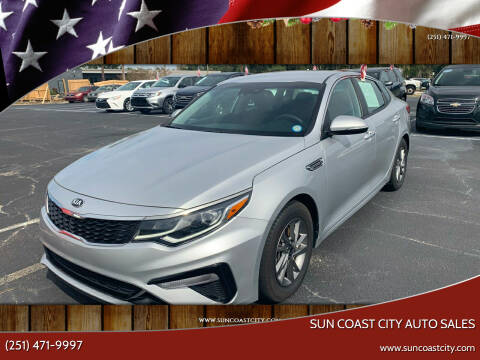 2019 Kia Optima for sale at Sun Coast City Auto Sales in Mobile AL