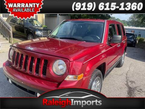2014 Jeep Patriot for sale at Raleigh Imports in Raleigh NC