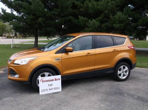 2016 Ford Escape for sale at EFFINGHAM AUTO in Effingham IL