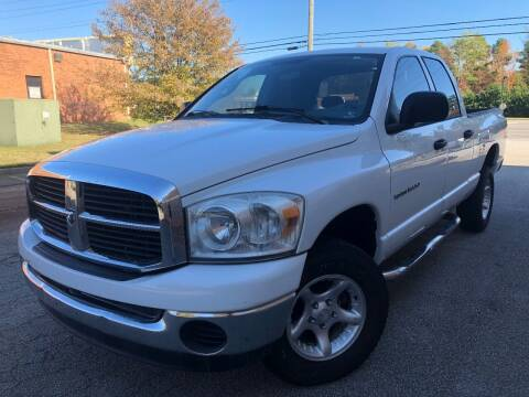2007 Dodge Ram Pickup 1500 for sale at Gwinnett Luxury Motors in Buford GA