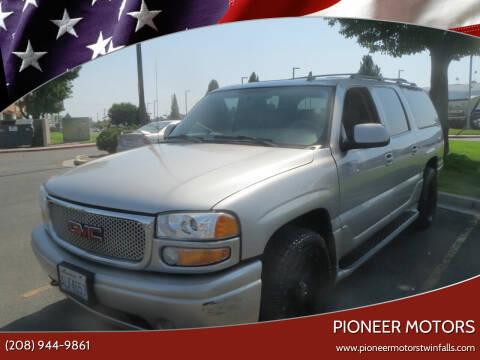 2006 GMC Yukon XL for sale at Pioneer Motors in Twin Falls ID