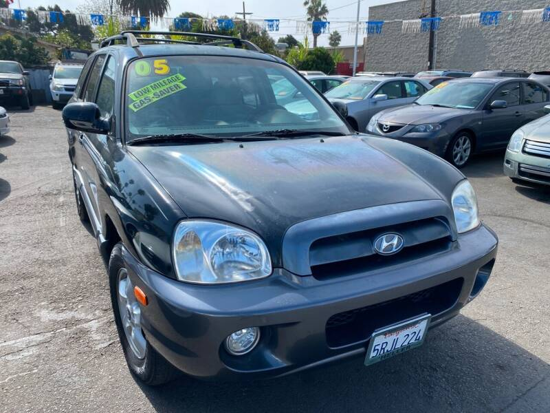 2005 Hyundai Santa Fe for sale at North County Auto in Oceanside CA