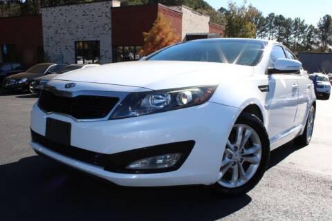 2012 Kia Optima for sale at Atlanta Unique Auto Sales in Norcross GA