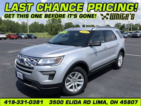 2019 Ford Explorer for sale at White's Honda Toyota of Lima in Lima OH