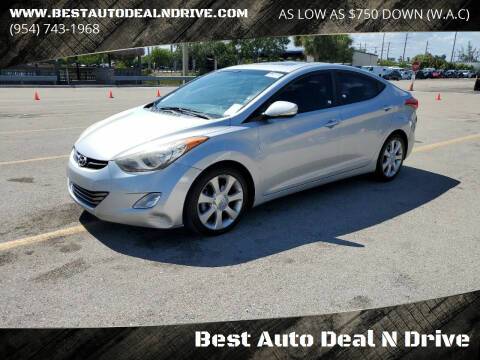 2013 Hyundai Elantra for sale at Best Auto Deal N Drive in Hollywood FL