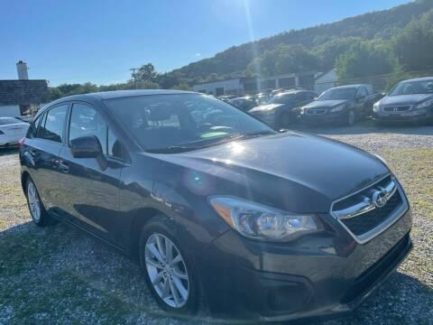 2012 Subaru Impreza for sale at Ron Motor Inc. in Wantage NJ