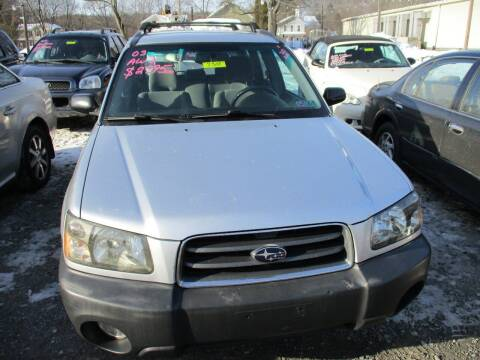 2003 Subaru Forester for sale at FERNWOOD AUTO SALES in Nicholson PA