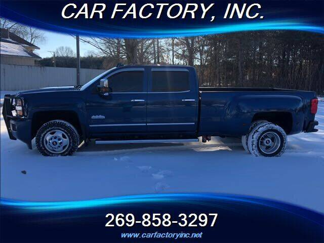 2015 Chevrolet Silverado 3500HD for sale at Car Factory Inc. in Three Rivers MI