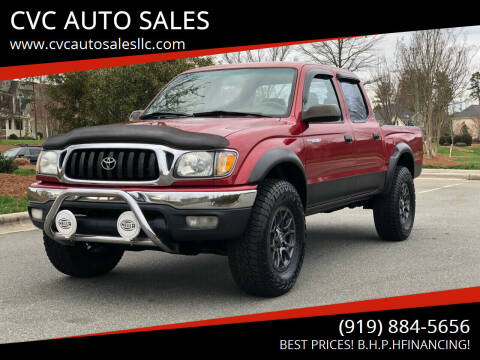 2001 Toyota Tacoma for sale at CVC AUTO SALES in Durham NC