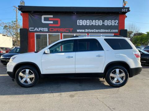 2011 GMC Acadia for sale at Cars Direct in Ontario CA