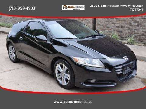 2011 Honda CR-Z for sale at AUTOS-MOBILES in Houston TX