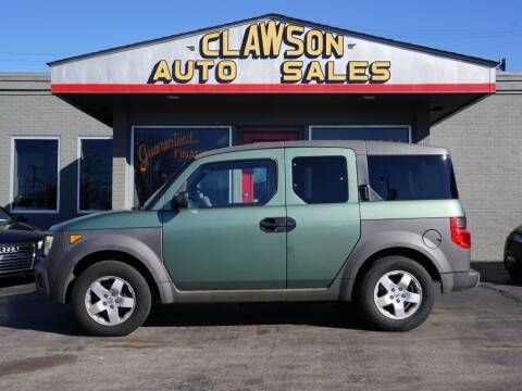 2003 Honda Element for sale at Clawson Auto Sales in Clawson MI