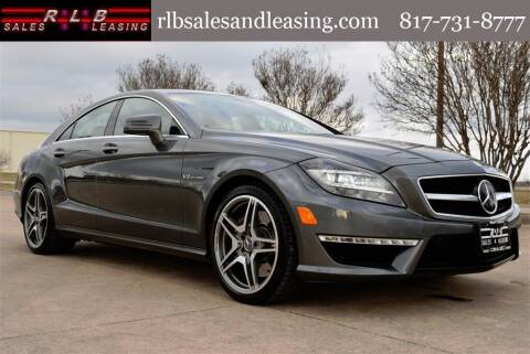 2012 Mercedes-Benz CLS for sale at RLB Sales and Leasing in Fort Worth TX