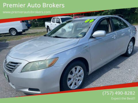 2009 Toyota Camry Hybrid for sale at Premier Auto Brokers in Virginia Beach VA
