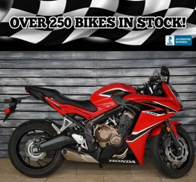 2018 Honda CBR650F for sale at AZautorv.com in Mesa AZ