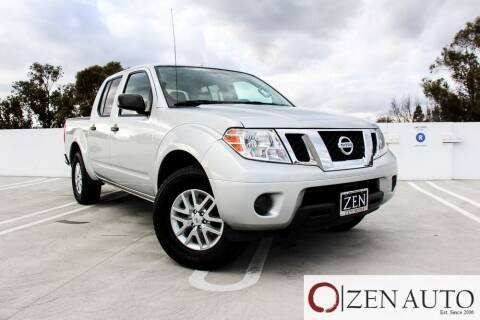 2016 Nissan Frontier for sale at Zen Auto Sales in Sacramento CA