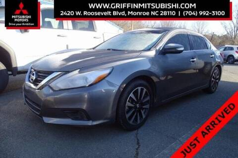 2018 Nissan Altima for sale at Griffin Mitsubishi in Monroe NC