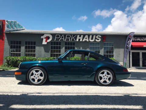 1991 Porsche 911 for sale at PARKHAUS1 in Miami FL