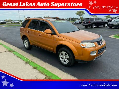 2006 Saturn Vue for sale at Great Lakes Auto Superstore in Waterford Township MI
