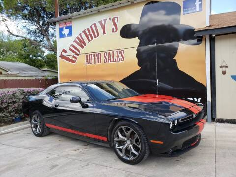 2015 Dodge Challenger for sale at Cowboy's Auto Sales in San Antonio TX