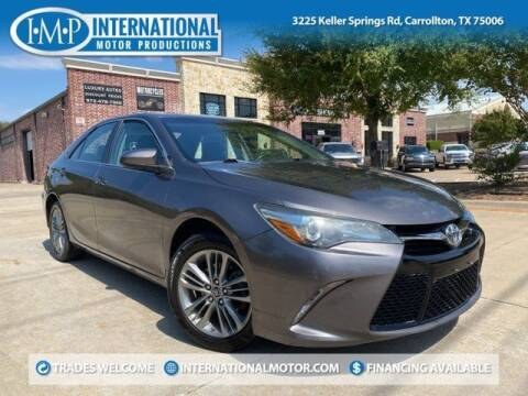 2015 Toyota Camry for sale at International Motor Productions in Carrollton TX