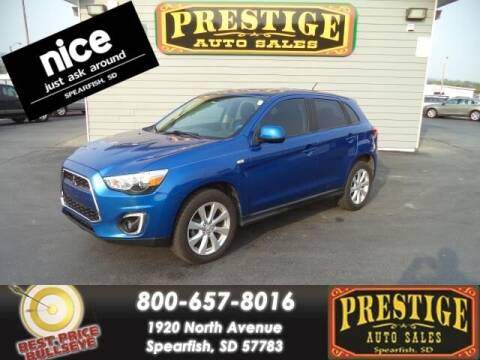 2015 Mitsubishi Outlander Sport for sale at PRESTIGE AUTO SALES in Spearfish SD