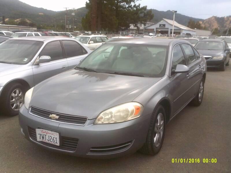 2006 Chevrolet Impala for sale at Mendocino Auto Auction in Ukiah CA