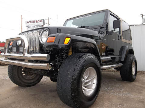 2002 Jeep Wrangler for sale at Broken Arrow Motor Co in Broken Arrow OK