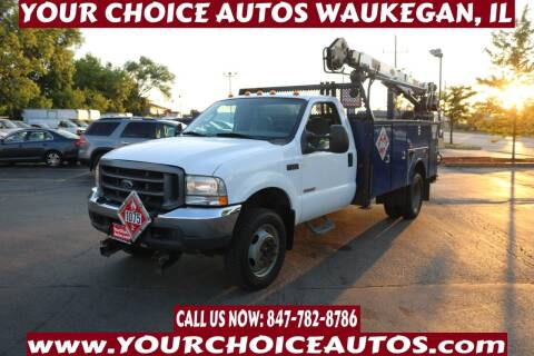 2004 Ford F-550 Super Duty for sale at Your Choice Autos - Waukegan in Waukegan IL