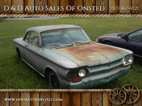 1963 Chevrolet Corvair for sale at D & D Auto Sales Of Onsted in Onsted   Brooklyn MI