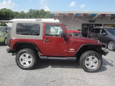 2009 Jeep Wrangler for sale at HAPPY TRAILS AUTO SALES LLC in Taylors SC