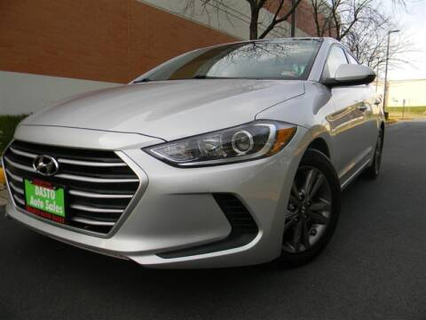 2018 Hyundai Elantra for sale at Dasto Auto Sales in Manassas VA