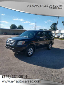 2007 Honda Pilot for sale at A-1 Auto Sales Of South Carolina in Conway SC